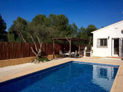 Photo for Modern family friendly villa with 8m x 4m pool, fully air-conditioned and WiFi.
