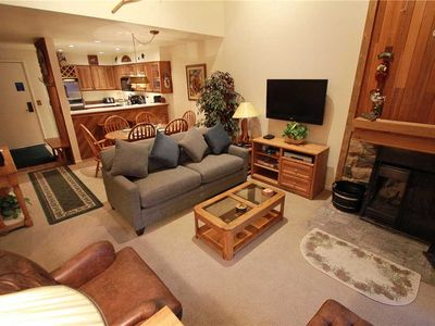 Photo for Snow Flower Condo #154, 2 bed/loft 2 bath, sleeps 10, SKI-IN/SKI-OUT to Park City Mountain Resort