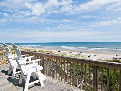 Photo for OCEANFRONT 4 BR/2 BA 1/2 duplex with stunning views!
