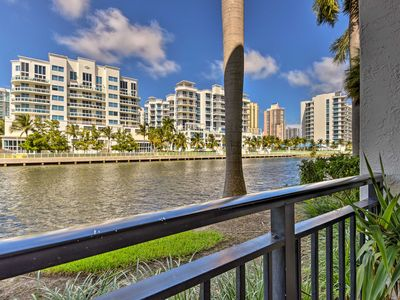 Photo for NEW! Waterfront Aventura Condo - 10 Mins to Beach!