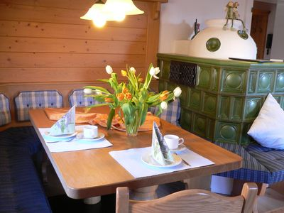 Photo for Spacious comfort apartment with south-west balcony in the Allgäuer style near the lift