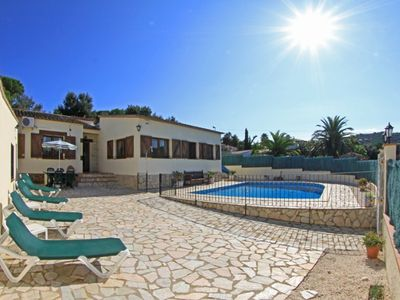 Photo for Club Villamar - Nice villa with airco, wifi, fenced private swimming pool nearby Calonge