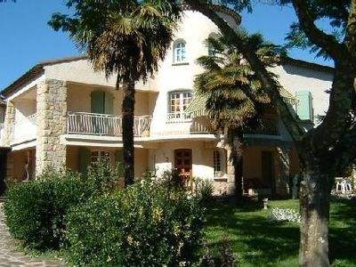 Photo for Accommodation in Character house with pool Vals les Bains (07)