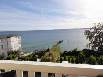 Photo for DZ 08th Standard with Sea View and Balcony - Hotel Garni Meeresgruß ***
