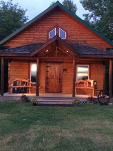 Photo for Lovely private cabin located in the country