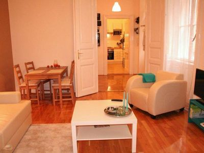 Photo for Budapest: budapest city center, beautiful flat 50m2,