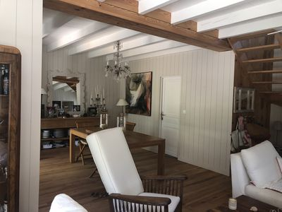 Photo for Charming pool house Le Canon Cap Ferret