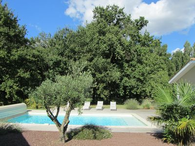 Photo for House with swimming pool between Bordeaux and St Emilion