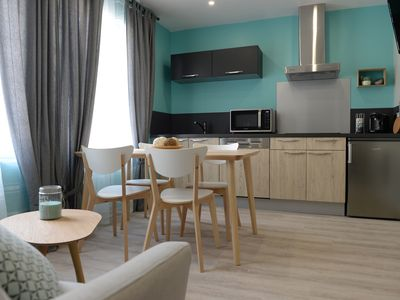 Photo for Luxury apartment on the cliffs of Tréport