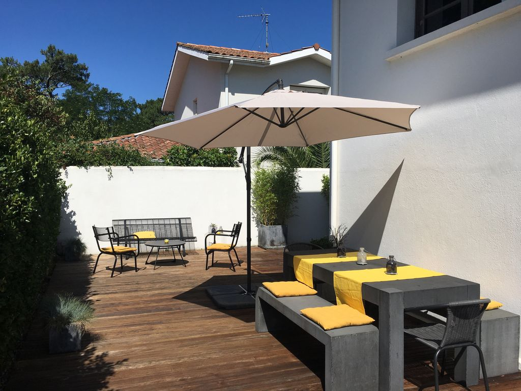Villa 8 personnes au calme anglet biarritz restent 2 semaines ao t anglet for Location villa aout