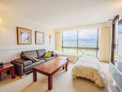 Special Rate.Charming 1BD With Ko'olau Mountain Range View with Free Parking!