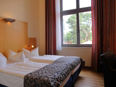 Photo for Double room Waldseite klein - Strand- und Wellnesshotel Asgard