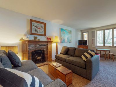 Photo for NEW LISTING! Quiet ski-in/out condo in Vail w/river views, shared tennis, & more