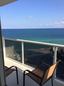Photo for South Florida Breathtaking Ocean Views, Direct Ocean Front Condo,monthly rentals