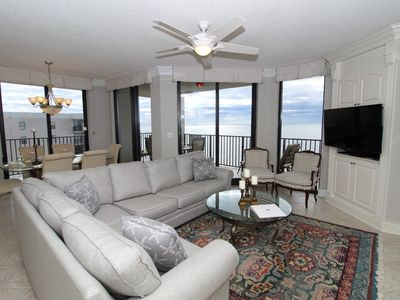 Photo for Phoenix 8 1506 - Beach Front View from Large Terrace! Lower Summer Rates!