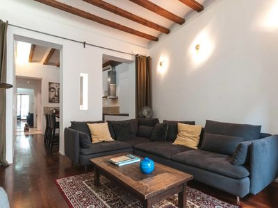 Photo for Fantastic design apartment close to Las Ramblas