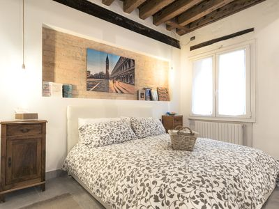 Photo for Venice romantic loft in the heart of the old town just steps from the Biennale