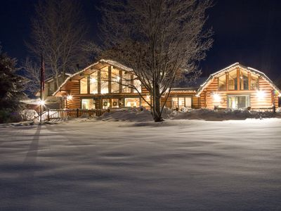 Photo for Mountain Meadow lodge - Secluded cabin - Sleeps 10 - Teton Views - Privacy