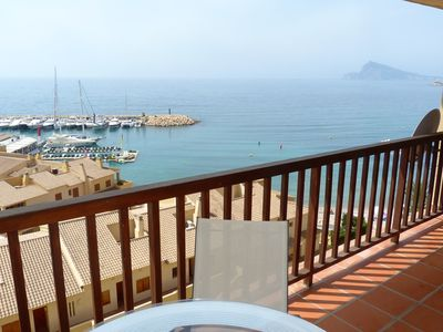 Photo for Apartment facing the sea near Altea