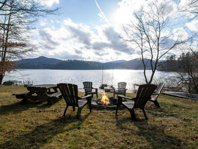 Photo for New Listing!! Fabulous lakefront home on Lake Glenville