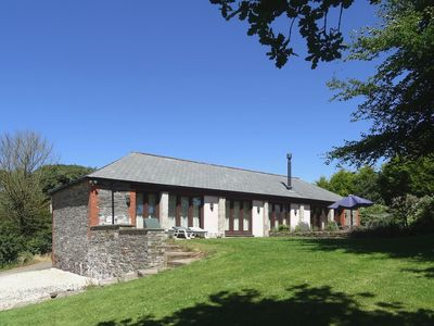 Photo for THE LINNEY, pet friendly, with open fire in St Tudy, Ref 976323