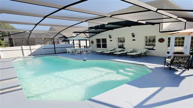 Photo for Villa with own private pool with Conservation view. Close to Disney