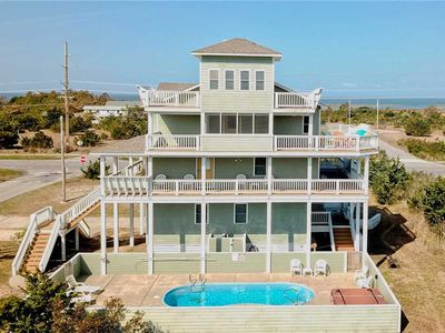 Photo for SEA-Esta Oceanside in Salvo w/Pool&HotTub, RecRoom, PetFriendly