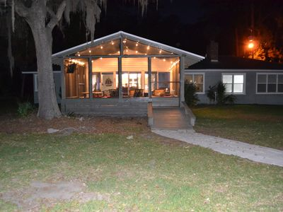 Photo for Cool Decor @$210/nt! Oyster House Waterfront with Dock Near Savannah- Sleeps 8
