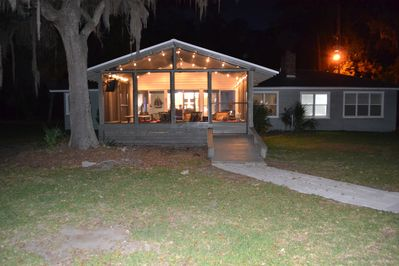 Direct waterfront house in coastal GA only 35 min from historic Savannah