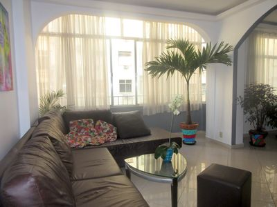 Living room . Sofa can also be used as sofabed.