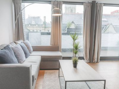 Photo for L1 Apt. w/ Huge Private Roof Terrace & Cool Decor!