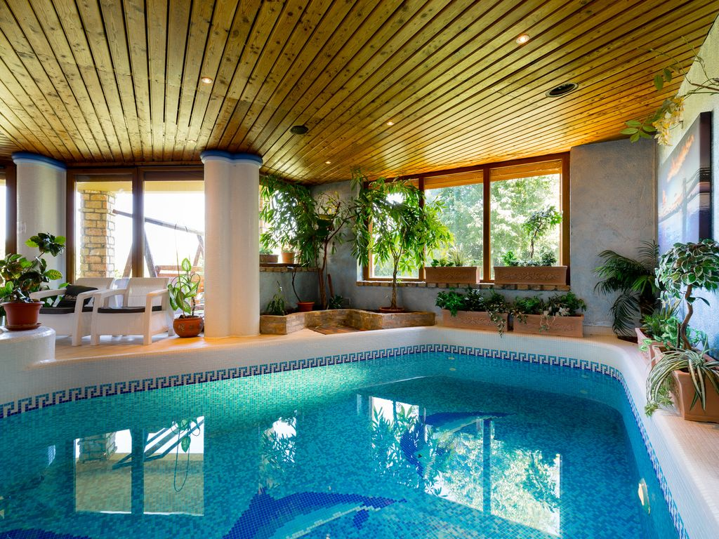 Private Indoor Swimming Pools private luxury villa with indoor swimming - homeaway district xi.