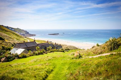 Remarkable Penrose Cornish Cottage With Sea Views Garden Patio By The Beach Sennen Download Free Architecture Designs Terstmadebymaigaardcom