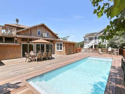 Photo for NEW LISTING! Spacious home w/ deck & private pool, outdoor shower, ocean views!