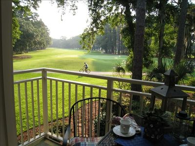 Photo for FALL AVAIL!Sea Pines/Central Location-Easy Walk/Bike to Beach Pool- Golf Views!
