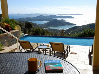 Photo for Bay Rum Breeze-exceptional views, pool, hot tub,  5 minutes to beach