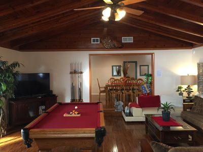 Photo for Unique Pool House, 0.7mile to Convention,1.5 miles to Disney, Family friendly!