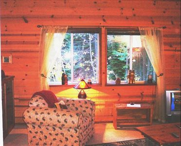 Photo for Lovely Secluded Cabin W/ Private Hot Tub & Pet Friendly!