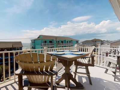 Photo for Great Ocean Views, Pool, Newly Updated Condo, Top floor, Easy Beach Access, New to Rental Market