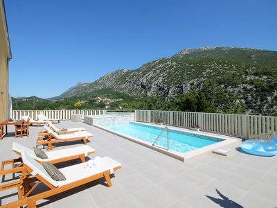 Photo for NEW! VILLA REMUSIC Pool, whirlpool, Sauna,4 bedrooms, amazing landscape
