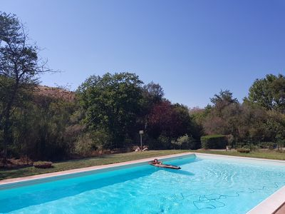 Photo for Casale with dependance and exclusive swimming pool in Maremma