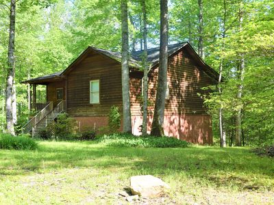 Photo for 3 bdrms, Horse Stables, Bonfire Pit, Screened Porch, Sleeps 8, Mountain Shade