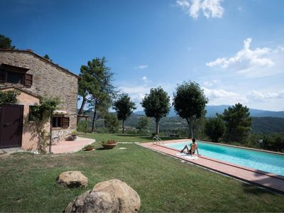 Photo for Beautiful private villa with WIFI, private pool, A/C, TV, pets allowed and parking, close to Are...