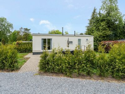 Photo for Comfortable chalet with a fireplace, 3 km from Baarle-Nassau