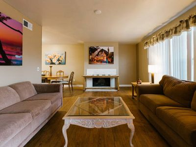 Photo for You will love this bright, cheerful home with a king sized bed in every room