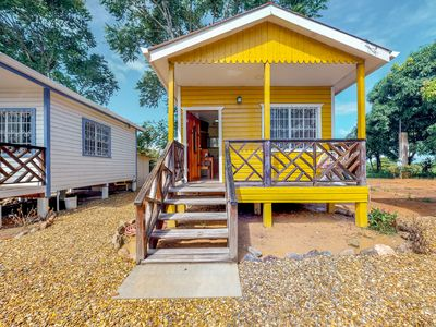 Photo for Relaxing studio outside of Dangriga with free WiFi, porch, & AC!