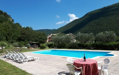 Photo for Villa Salimbeni 9 rooms, large swimming pool, panoramic view, for 18 people