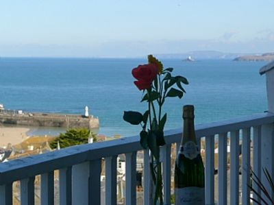 Photo for Apartment With Fantastic Views Over St Ives And Out To Sea