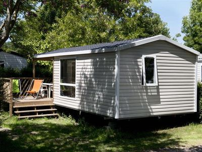 Photo for Camping L'Abri-coastal *** - Mobil home Loggia Privilège 3 rooms 4/5 people