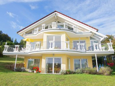 Photo for Exclusive apartment with large balcony and lake view directly on to the Edersee